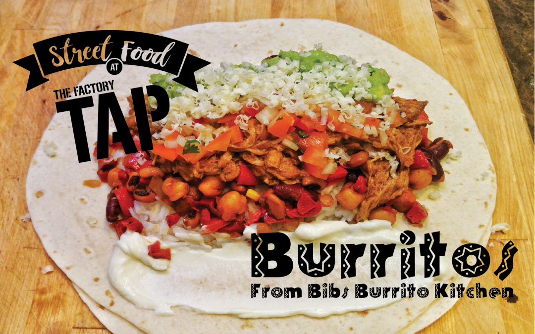 Burritos at The Tap