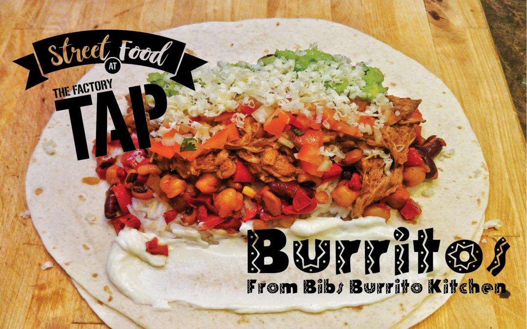 Burritos at The Tap
